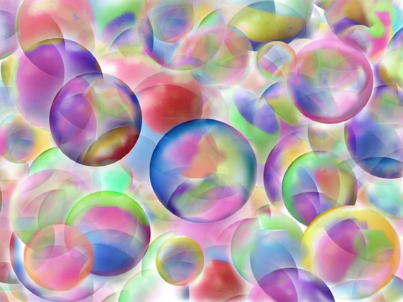Kleurenbubbel: energetisch beschermen voor prikkels