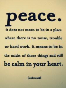 Rustig blijven hooggevoelig