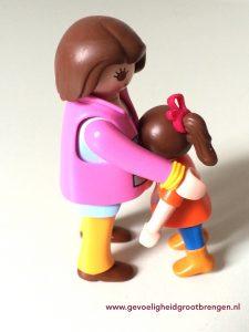 hooggevoelig kind overstuur opvangen