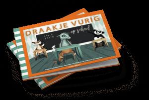 Draakje Vurig op school - Janneke van Olphen